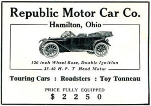 The Republic Motor Car Company