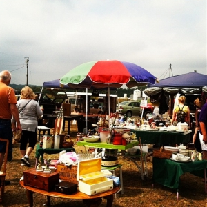 The World's Longest Yard Sale along U.S. 127 in Seven Mile in August 2012. STAFF FILE PHOTO