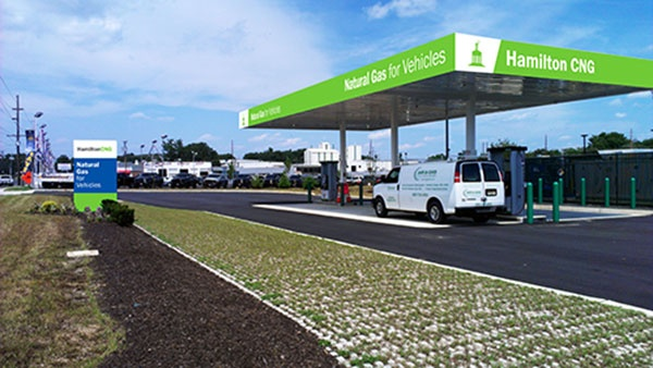 Hamilton CNG Station to Hold Ribbon Cutting