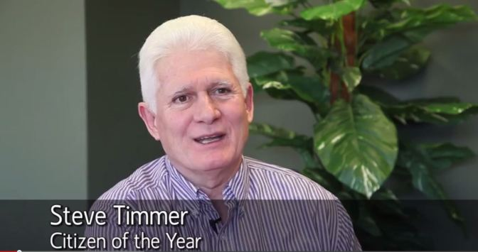 Steve Timmer: Hamilton's (Reluctant) Citizen of the Year 2014