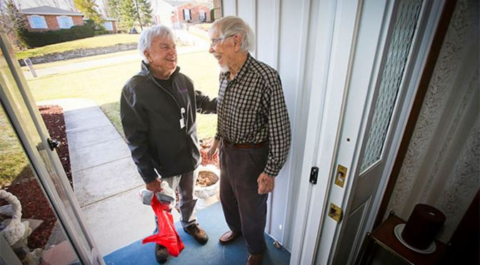 Meals on Wheels Drivers Do More Than Deliver Food