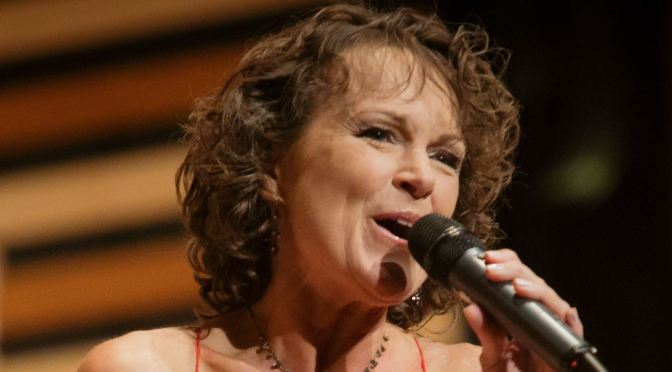 Helen Welch performs 'I Got Rhythm' at Fitton Center