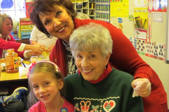 MOTHER'S DAY DYNAMIC DUO: Donna Mattia and Mary Dean