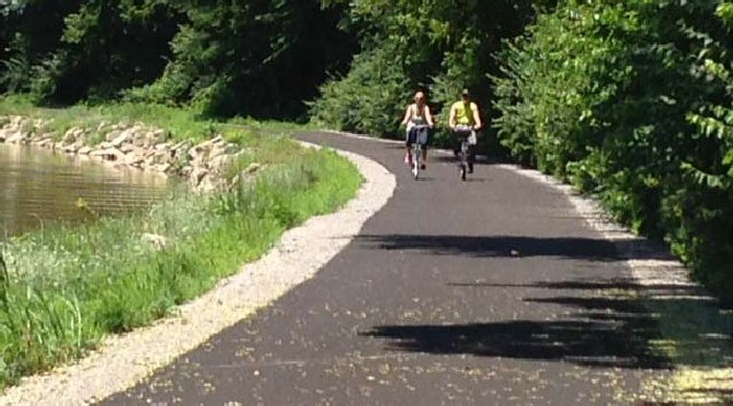 Bike path section to be dedicated Wednesday