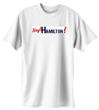 Support the next wave of community journalism by sporting this HEY! Hamilton! special.