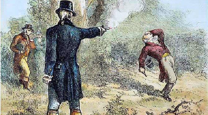 The Funeral of Alexander Hamilton