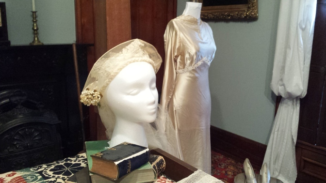 Famous and fancy wedding dresses on display in Benninghofen House