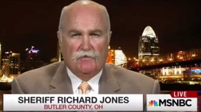 Sheriff Richard Jones makes national headlines