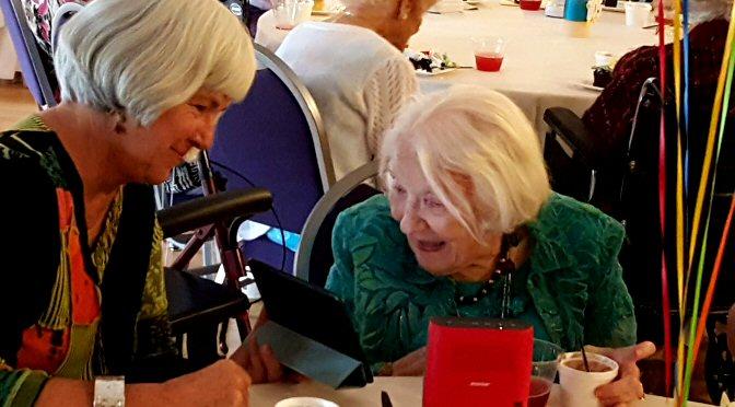 VIDEO PODCAST: Gretchen Fuller turns 105