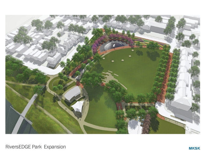 'An Attractive Park on Hamilton's River Front is Now Being Planned'